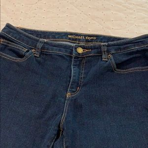 Michael Kors cropped jeans size 8